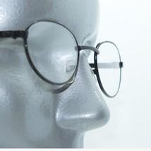 Reading Glasses Petite Mini Oval Rock Star Matte Black Metal Frame +3.00 Lens - $18.00