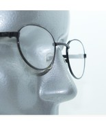 Reading Glasses Petite Mini Oval Rock Star Matte Black Metal Frame +3.00... - $18.00
