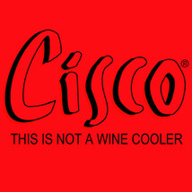 Cisco T-shirt Bum Wine retro 1980s cotton graphic malt liquor red tee shirt image 2