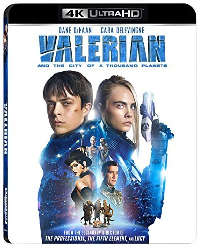 Valerian and the City of A Thousand Planets [4K Ultra HD + Blu-ray]
