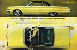 Vintage 1965 2-Page Magazine Ad Chrysler Newport 2 Door Hardtop and Convertible - $5.93