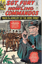 Sgt. Fury and His Howling Commandos Comic Book #24, Marvel 1965 VERY FINE - $42.49