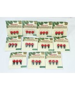 Franks 3.5 Volt Crystal Light Lamps Replacement Bulbs Red Lot of 11 / 33... - $28.70