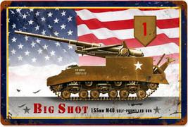 Big Shot M40 Metal Sign - $29.95