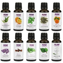Now Foods Essential Oils 10-Oil Variety Pack Sampler - 1oz Each - $54.08