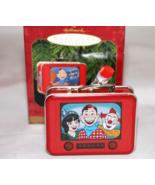 Hallmark Keepsake Howdy Doody Lunchbox-Thermos Set 1999 Christmas Orname... - $6.66