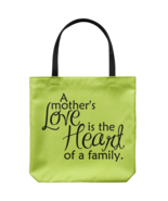 A Mother's Love Tote Bags Polyester Shoulder or Carry Double Sided Print - $19.95