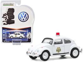 1964 Volkswagen Beetle Police Car White Scottsboro Police Department (Alabama) C - $14.69