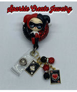 Harley Quinn Joker Clay Badge Reel - $24.99