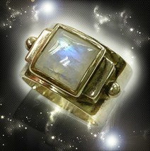 HAUNTED RING ANCIENT CIRCLE  5 POINTS OF SORCERER'S POWER SECRET OOAK MAGICK - $9,707.77