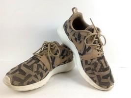 Nike Women's Sneakers 6.5 Roshe Run One Jacquard Beige Desert Camo 705217 200 image 1