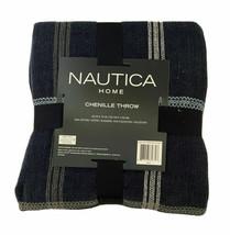"Nautica Chenille Throw, 60"" x 70"" - $32.99"