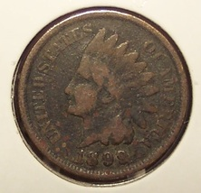 1899 Indian Head Penny G #0804 - $2.49