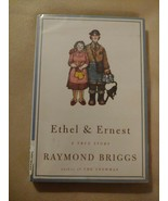 Ethel and Ernest : A True Story by Raymond Briggs 1999 HC/DJ FORMER LIBRARY - $14.80