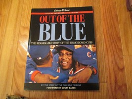 Out of the Blue Chicago Cubs 2003 Souvenir Magazine MLB Baseball - $10.99