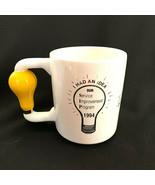 Kaiser  Permanente Coffee Tea Mug I Had An Idea 1994 Light Bulb Handle - $44.55