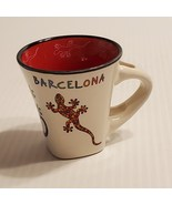 Ole Mosaic Barcelona Spain Coffee Tea Ceramic Cup Rare Vintage  - $23.00