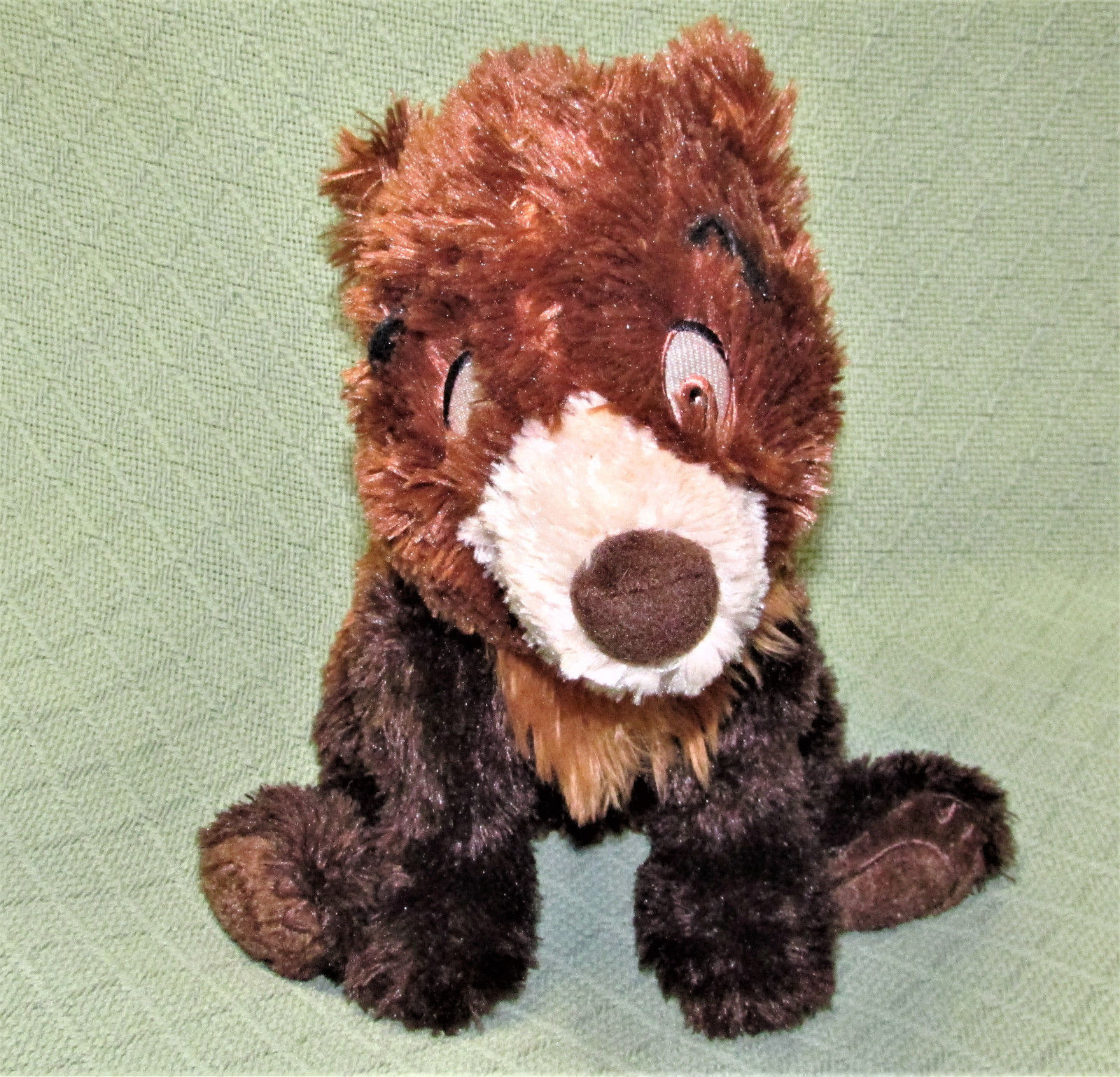 "Disney Brother Bear KODA Plush Brown Bear Floppy Bean Bag Stuffed Animal 12"" Toy image 3"