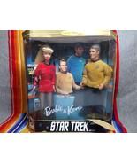 1996 Star Trek Barbie Ken Collection Gift Set Doll NIB ! 15006 30th Anni... - $69.99