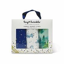 Tiny Twinkle Swaddle Blanket (Pack of 3, Forest)
