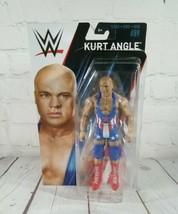 WWE Kurt Angle Action Figure Series #89 2018 Mattel FMF08 FTC78 (RIPPED ... - $16.78