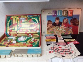 Vintage 1977 The Game Of Life A Family Game Milton Bradley Board Game Ma... - $34.65