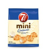 7Days Mini Croissants, Creamy Vanilla Filling Pack of 8 | Perfect Breakf... - $29.48