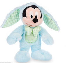 Disney Store Mickey Mouse Easter Bunny Plush Toy 2016 - $24.99