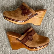 Naturalizer NAYA Women's IRINA Size 6.5 Medium Shoes Tan Coffee Suede Leather - $39.59