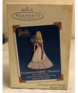 MIB 2005 Hallmark Keepsake Celebration Barbie Ornament Holiday Doll 6 in... - $11.88