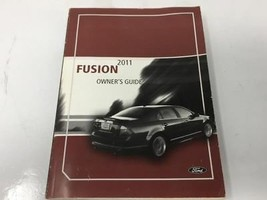 2011 Ford Fusion Operator Owners Manual User Guide W373G - $29.39