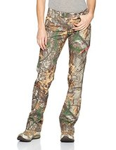 Under Armour Women's Scent Control Field Pant, Realtree Ap-Xtra (946)/Perfection