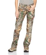 Under Armour Women's Scent Control Field Pant, Realtree Ap-Xtra (946)/Pe... - $79.19