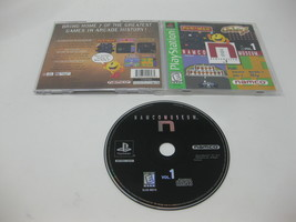 Namco Museum Volume 1 Greatest Hits Playstation PS1 Video Game Complete - $10.29