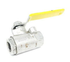 "APOLLO 2000 WOG BALL VALVE, 316 STAINLESS STEEL, 1/4"" image 2"