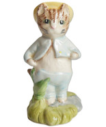 Tom Kitten In The Rockery Beatrix Potter Royal Doulton Figurine Cat Feli... - $44.95