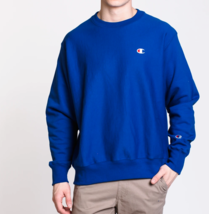 Champion Men's Reverse Weave Fleece Crew Neck Sweatshirt NEW AUTHENTIC R... - $39.49