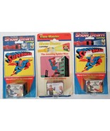 3 Vintage 1989 1990 View-Master Show Beam Superman Spiderman Cartridges ... - $29.70