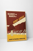 """Silence The March by Steve Thomas Gallery Wrapped Canvas 20""""x30"""" - $53.41"""