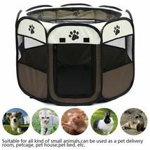 Portable Folding Pet Carrier Tent Dog Playpen House Multi Functionable F... - $31.99