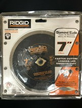 """Ridgid 7"""" Continuous Wet/Dry Diamond Blade for Tile - CT70CP - $24.74"""