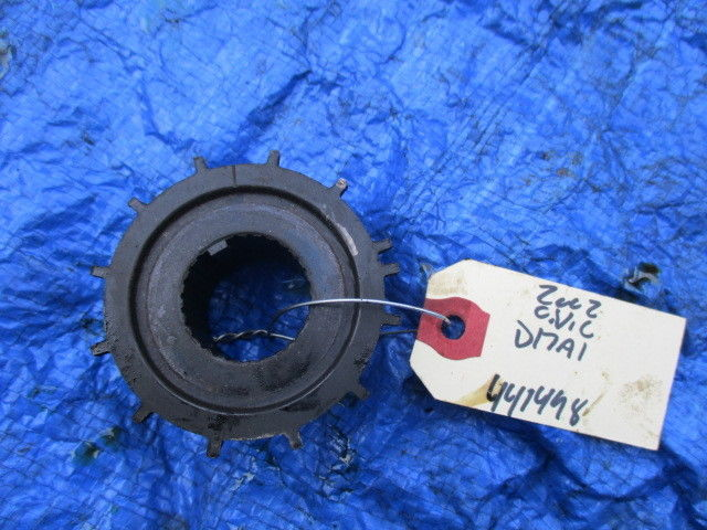 01-05 Honda Civic D17A1 engine timing gear fluctuation pulley motor D17 OEM