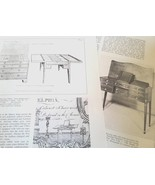 Beau Brummel Dressing Tables in America Boudoir Furniture Decor Referenc... - $14.99