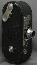 KEYSTONE K-8 8mm Movie Camera ELGEET f/2.5 12.5mm Lens USA - $32.40