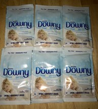 Lot Of 6 Packets Ultra Downy Fabric Softener Perfect For TRAVELING!! - $12.34