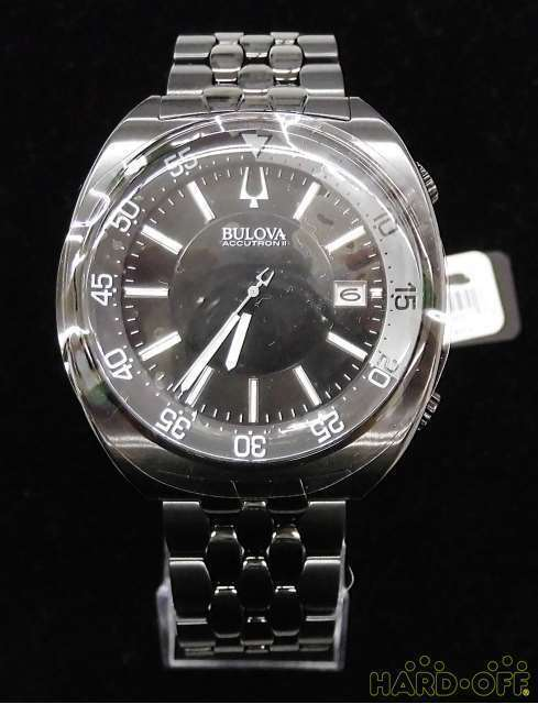 Bulova Accutron Ii 98B219 Quartz Analog Watch