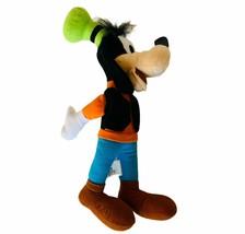 Walt Disney World Plush vtg stuffed animal Disneyland bean bag Goofy Toy... - $19.30
