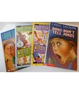 Wayside School & Louis Sachar children's books lot of 4 PB - $10.00