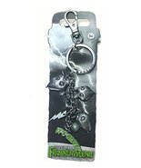 Disney Freenkenweenie Sparky Pewter Key Ring with Dangle Chain and Clip - $24.70