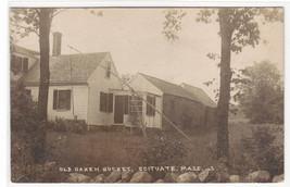 Old Oaken Bucket Scituate Massachusetts Real Photo RPPC postcard - $9.41